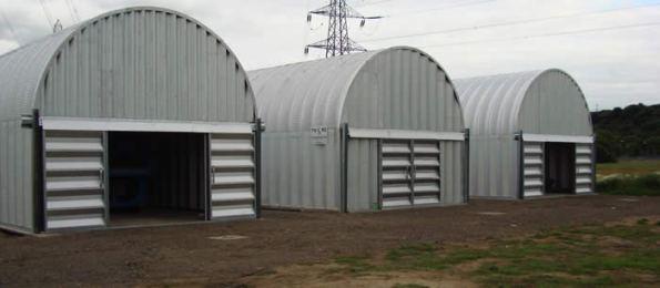 TURC boat sheds