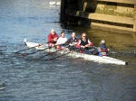 Chris, Andrew, Ashleigh, Martin & Finn (cox) - York Head 2010