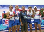 Winning Crew and Coach: Men's Lightweight Coxless Four - World U23 Championships 2010